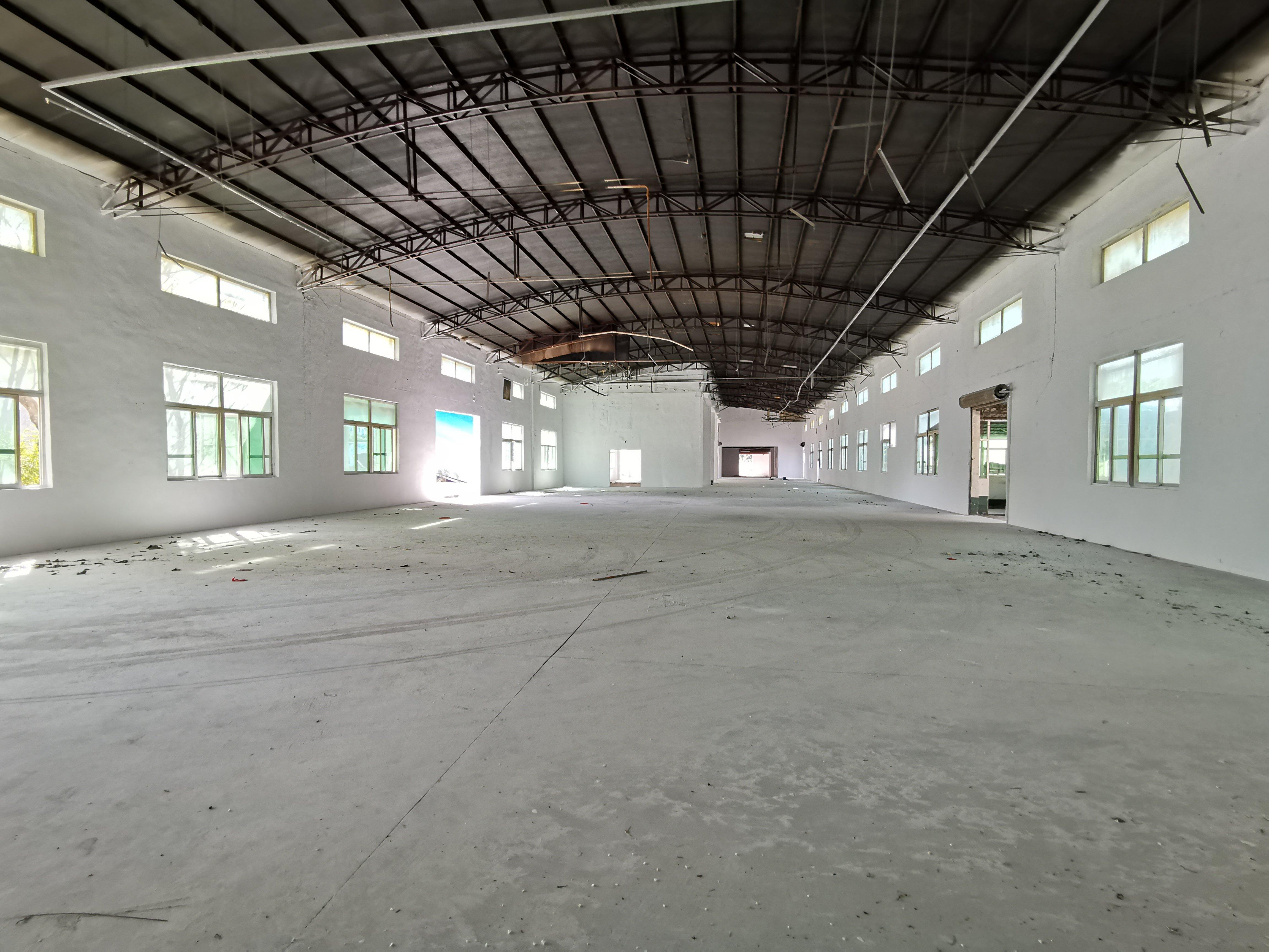 坪山单一层钢构仓库物流厂房7500平方出租,可分租