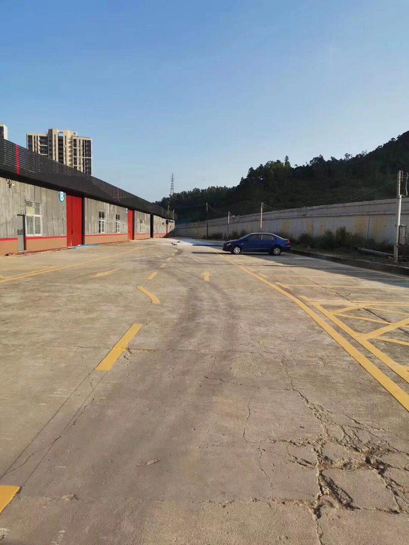 新圩再出独院钢构厂房 厂房2400平,高6米