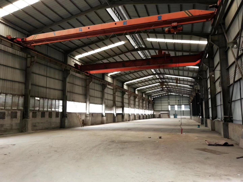 东莞市中堂镇2500平方钢结构有航车厂房招租