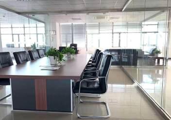 福永大洋田楼上1600平米豪华装修厂房免费用,无转让费图片8