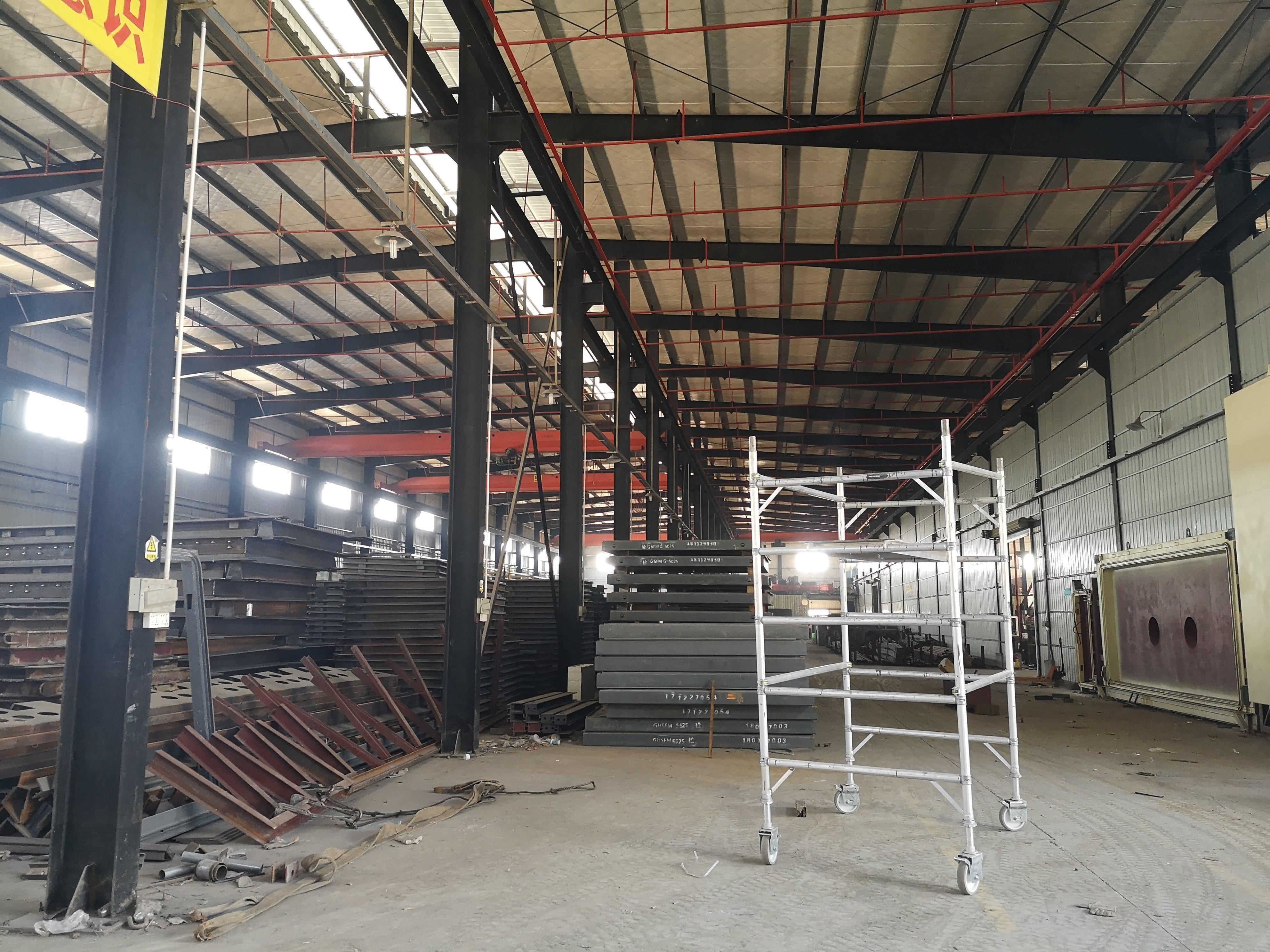 龙岗11米高8000平钢构厂房招租人防,洗沙,环保砖等企业
