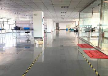 福永大洋田楼上1600平米豪华装修厂房免费用,无转让费图片4