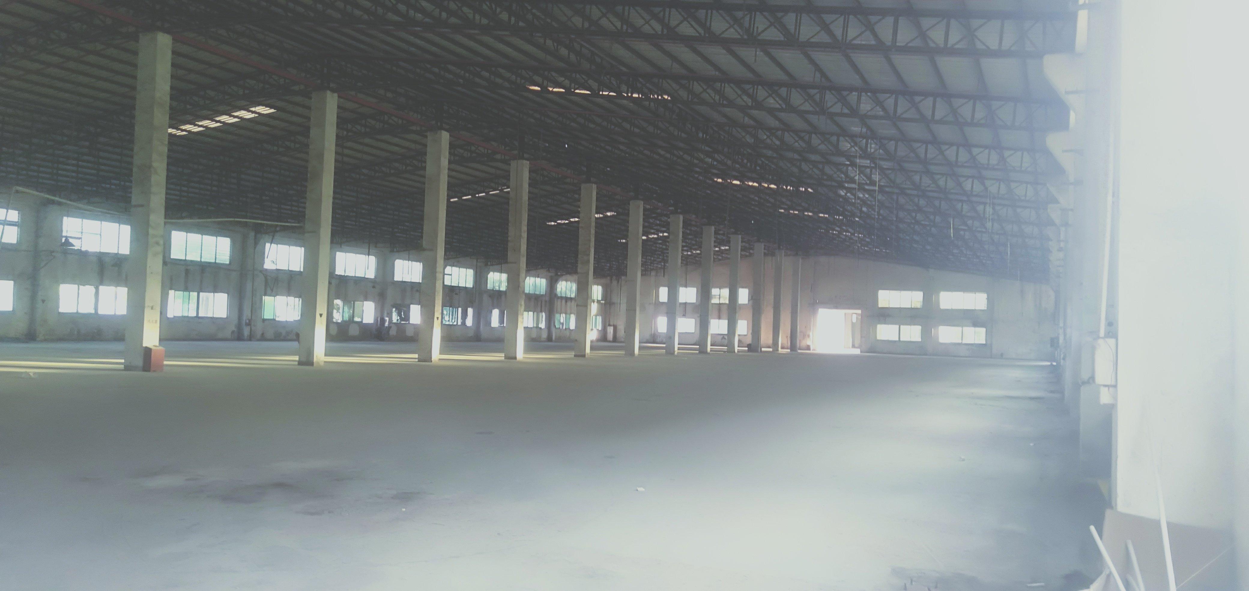 龙岗高速路口附近新出6900平独院钢构厂房低价出租可办环评