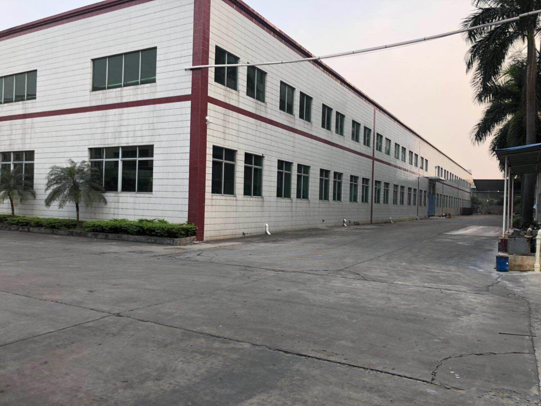 惠州原房东出租独院钢构厂房4000平可以分租实量面积证件齐全
