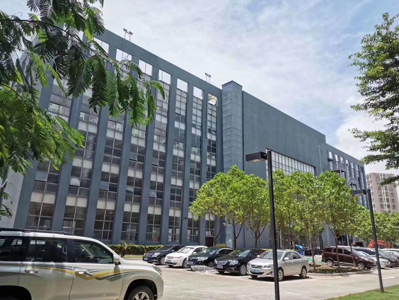 布吉新出高新技术园区楼上整层2160平厂房转让,带精装修