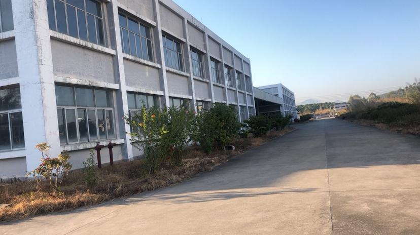 博罗杨村标准厂房6800平三层可做电子五金工艺品等