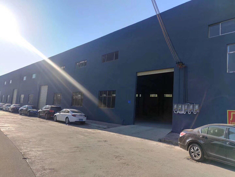 江门蓬莱工业区钢构厂房,空地非常大,证件齐全,滴水8米