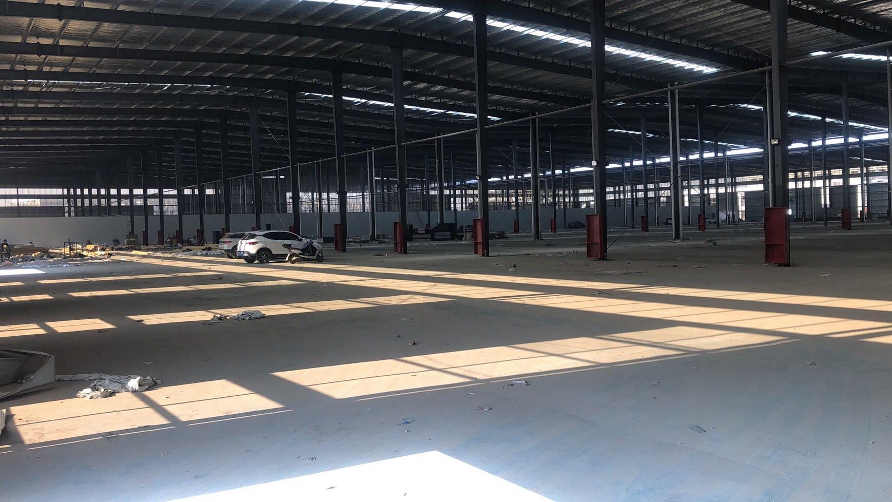 龙岗坪地钢构厂房30000平出租,价格便宜