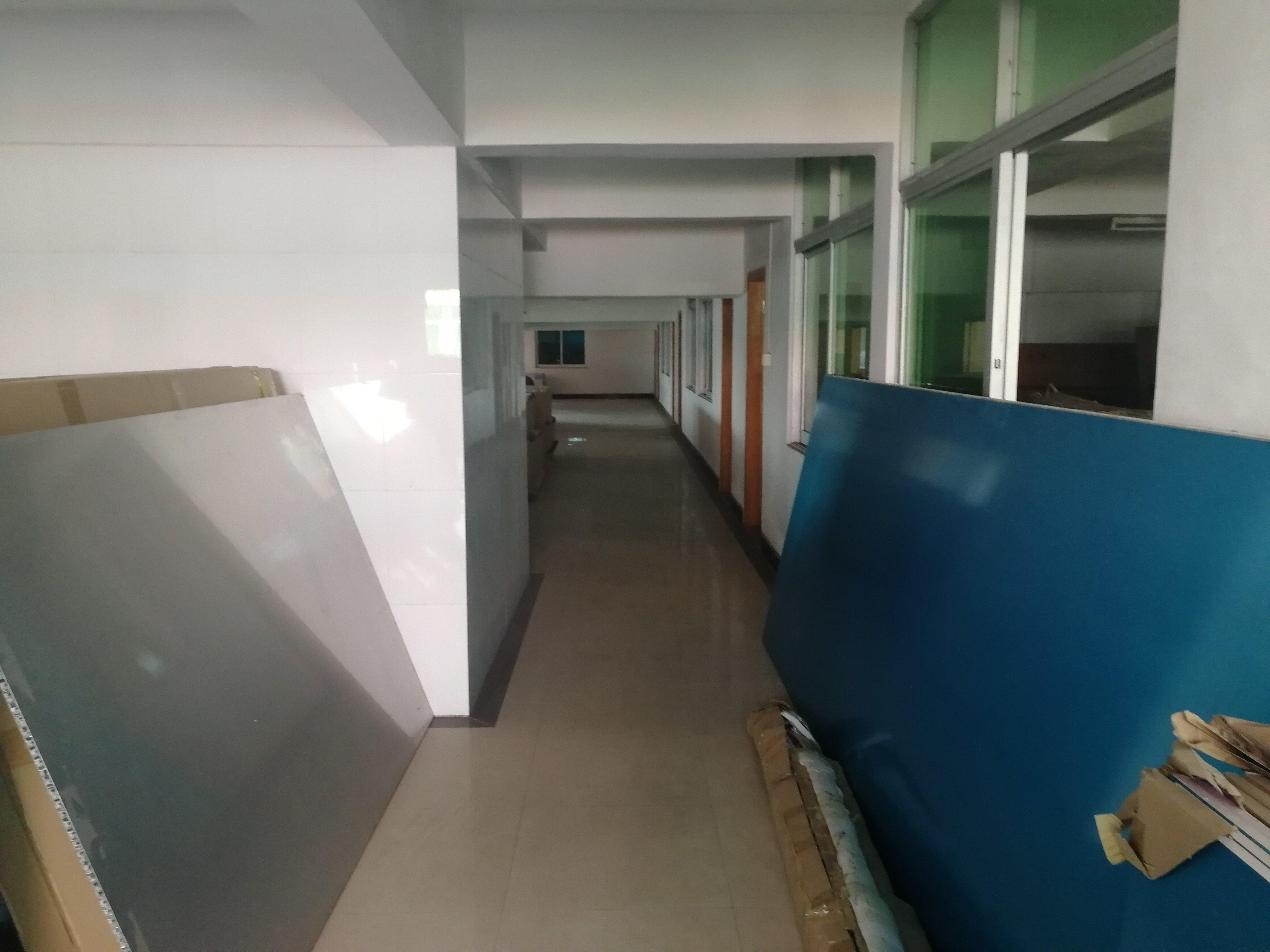 观澜章阁实业客分租楼上整层实际面积厂房可办环评
