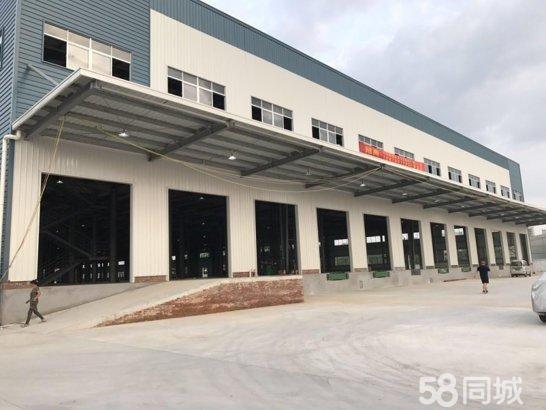 广州从化新出正规工业园单一层厂房可做高台仓库出租