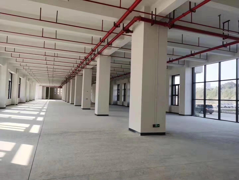 龙华清湖地铁站旁2000㎡物流仓库出租,空地超大