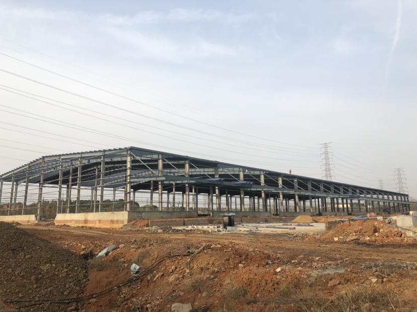 黄陂滠口唯一一栋高台库出租,错过就没有了,成熟工业园区域