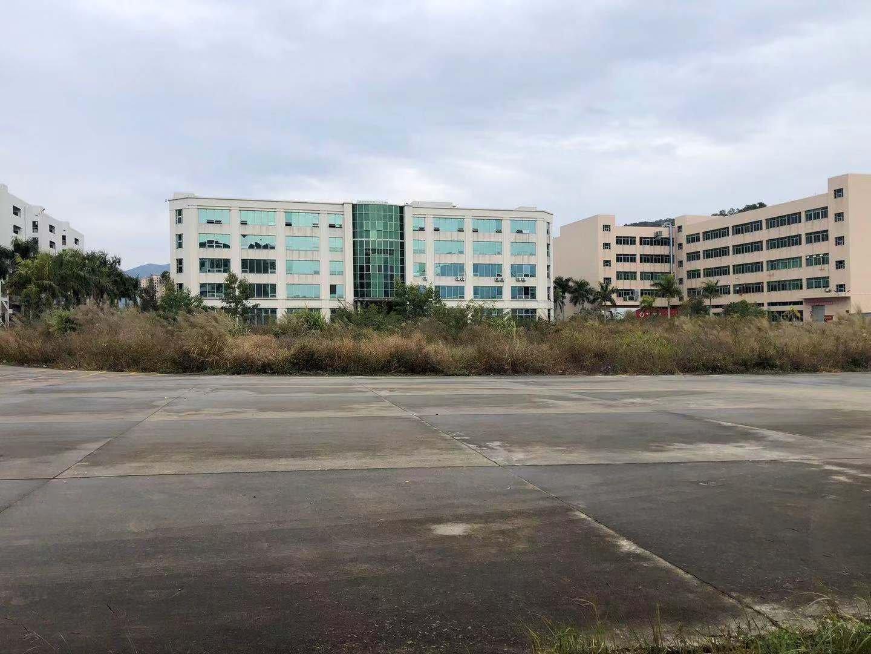 原房东厂房43000平,无公摊,单栋两部货梯,两栋厂房