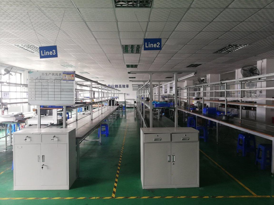 博罗县湖镇工业园精装修标准厂房2000平方可分租