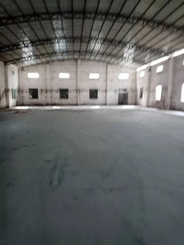 南城物流园区单一层900平方仓库出租21元,可开拖头车货柜