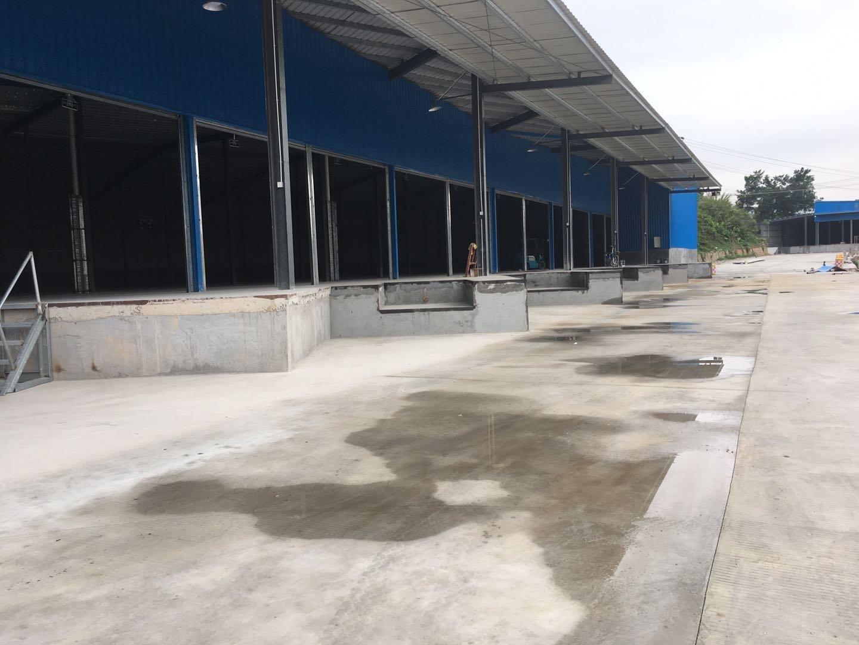 平湖新木独院钢构厂房仓库7000平米出租使用率高空地超大