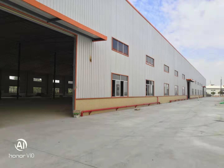 中山南朗第一工业区10米高全新钢构厂房总27000平米出租