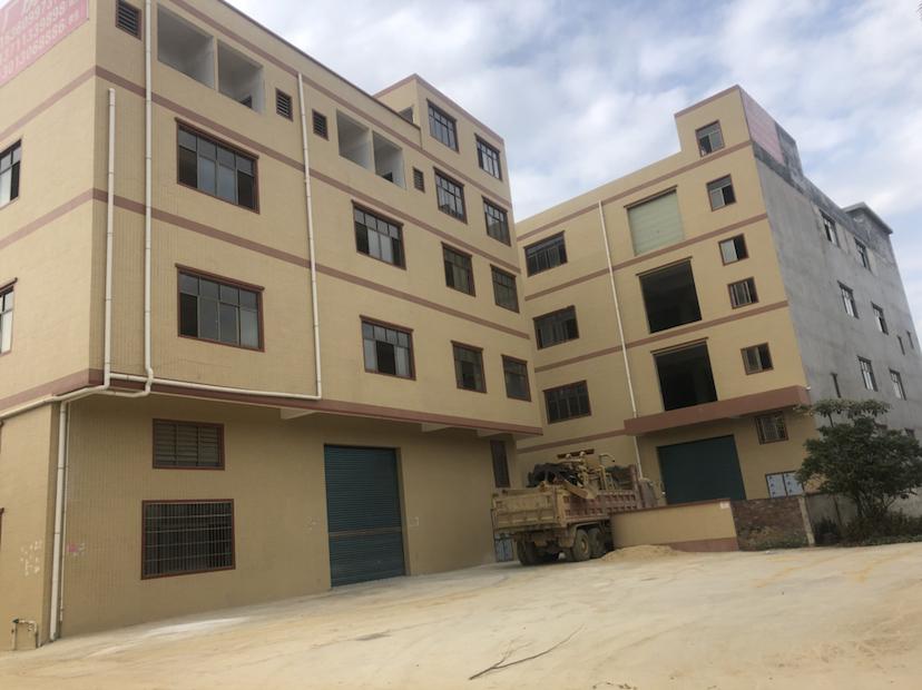 博罗龙溪原房东厂房标准三层2400平带600平宿舍
