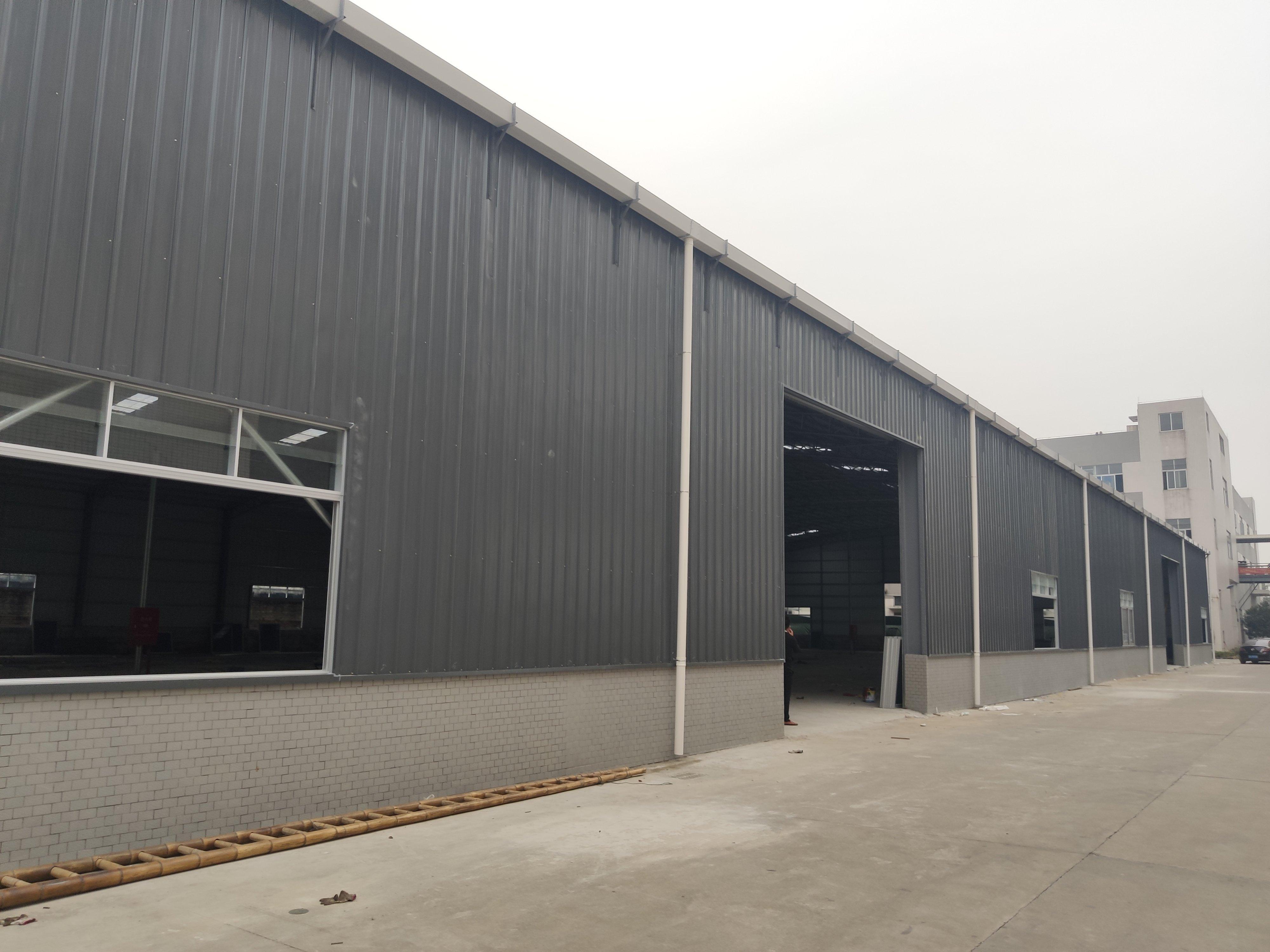 杏坛镇新出630kw电钢构厂房