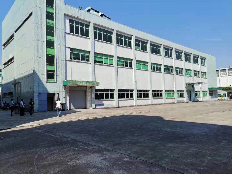 原房东独门独院标准厂房,一楼6米高带牛角,精装修车间,办公室
