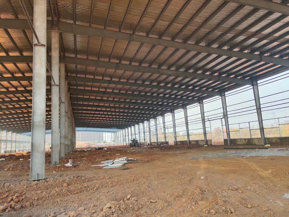 汉口北全新标准钢构厂房出租,带行轨-图2