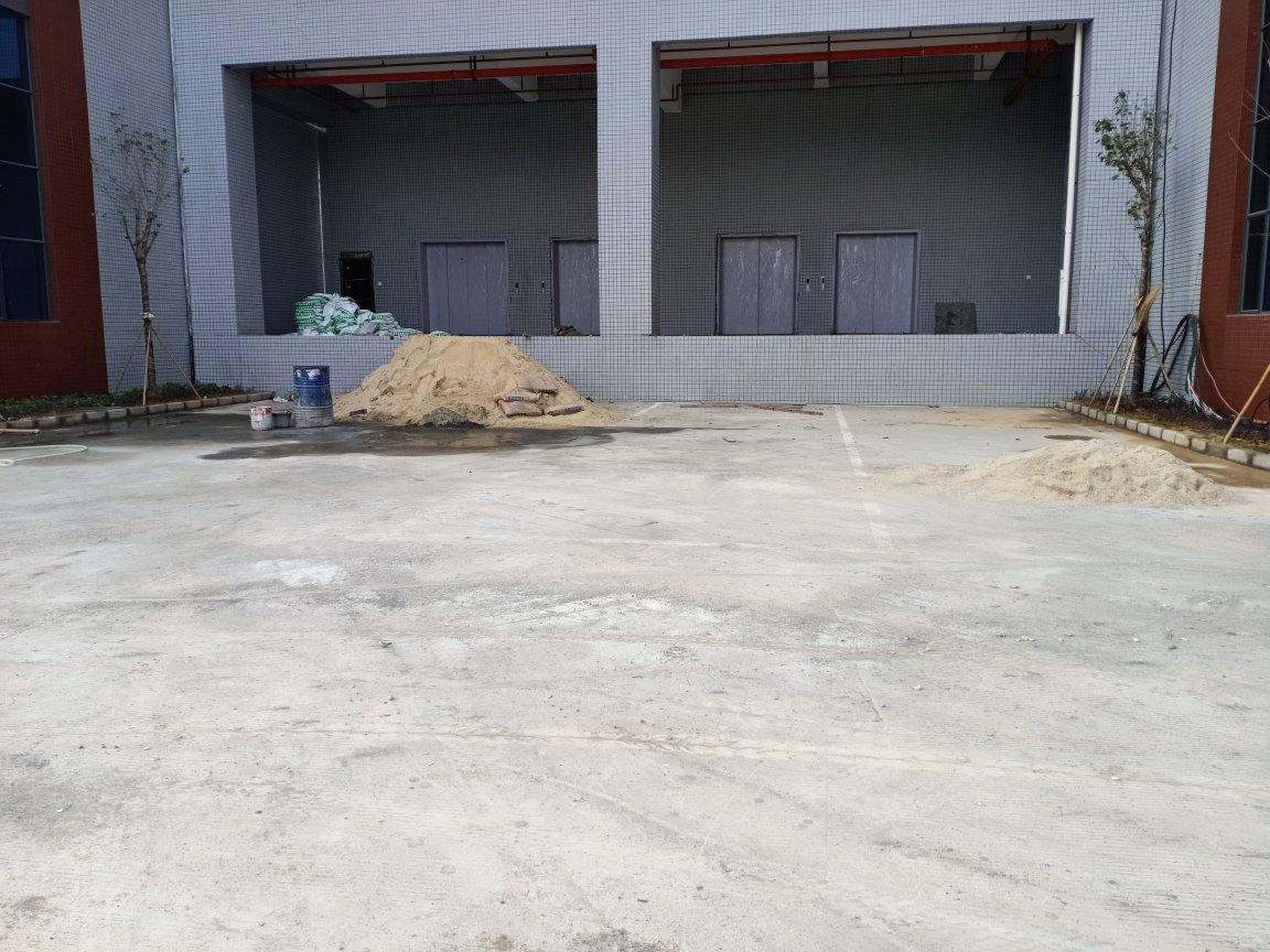 带缷货高台喷淋消防花园式大型重工业标准仓库