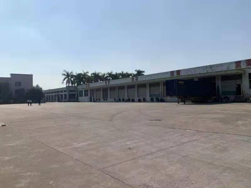 塘厦田心朱屋路附近新出单一层钢构4480㎡滴水9米带卸货平台