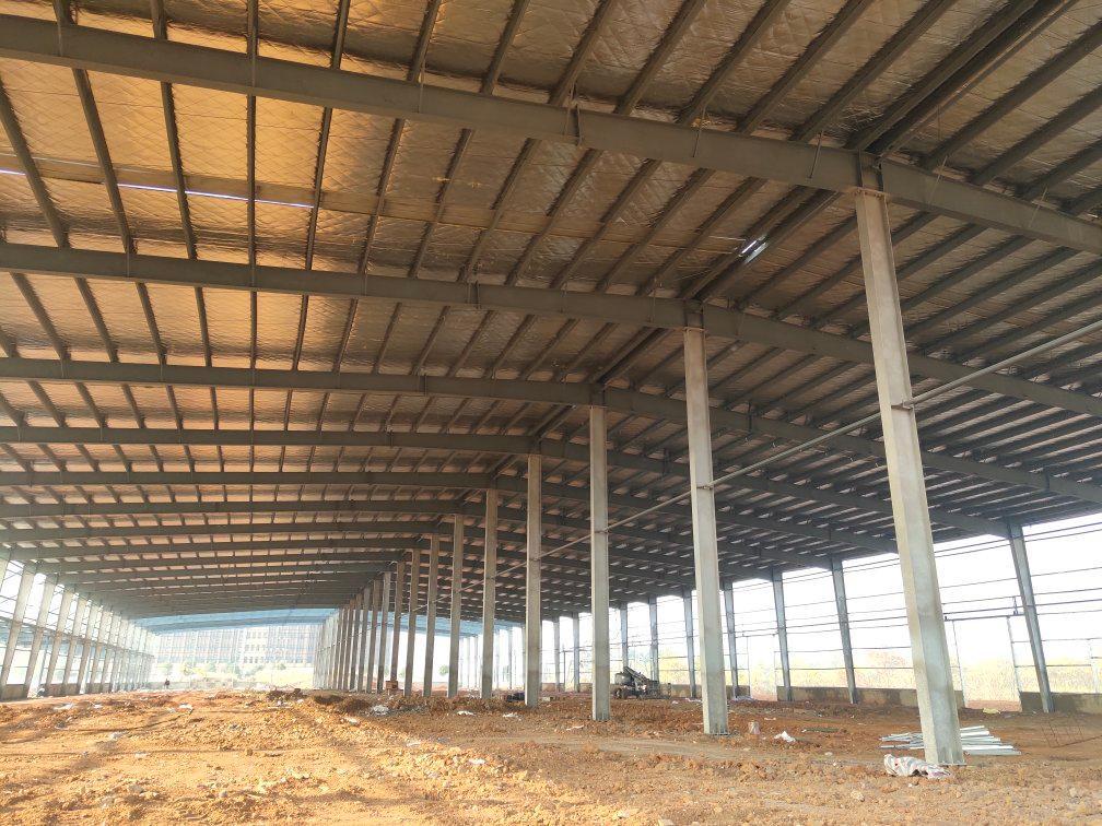 汉口北全新标准钢构厂房出租,带行轨-图3