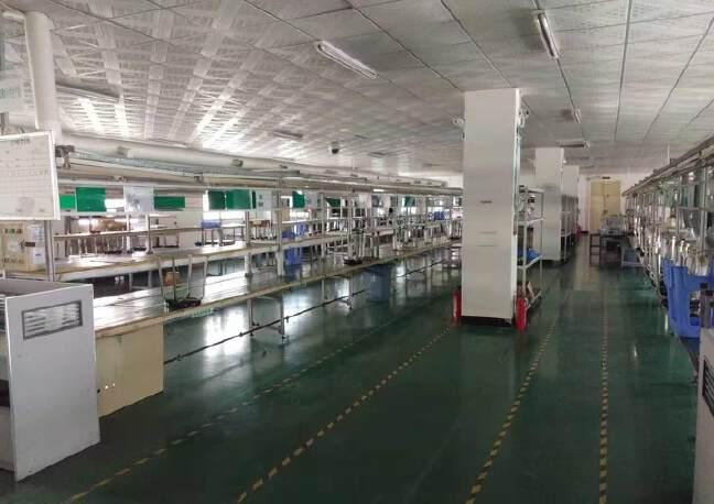 福永和平村大型工业园楼上带装修1266平米