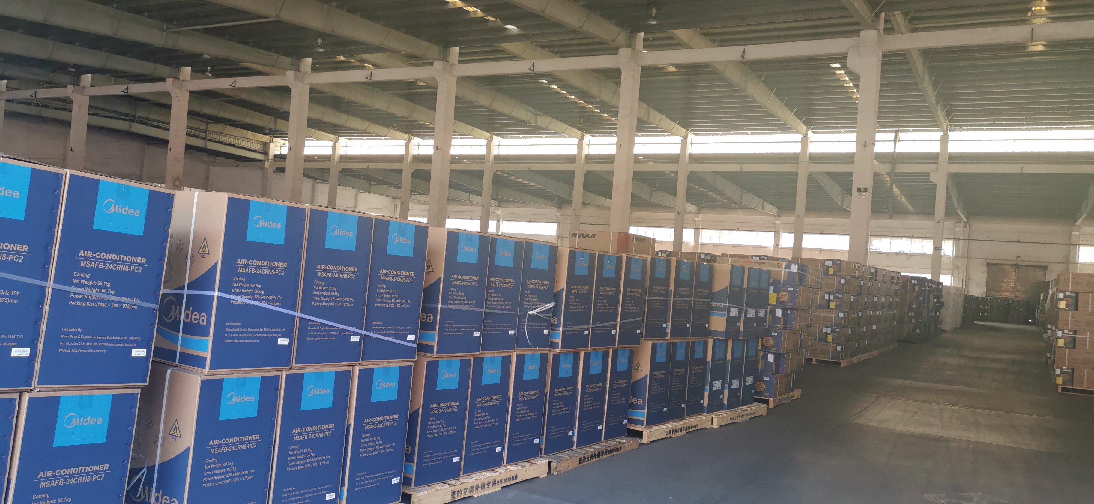 中山市独院砖墙到顶重工厂房约80000平方出租,园区形象好,
