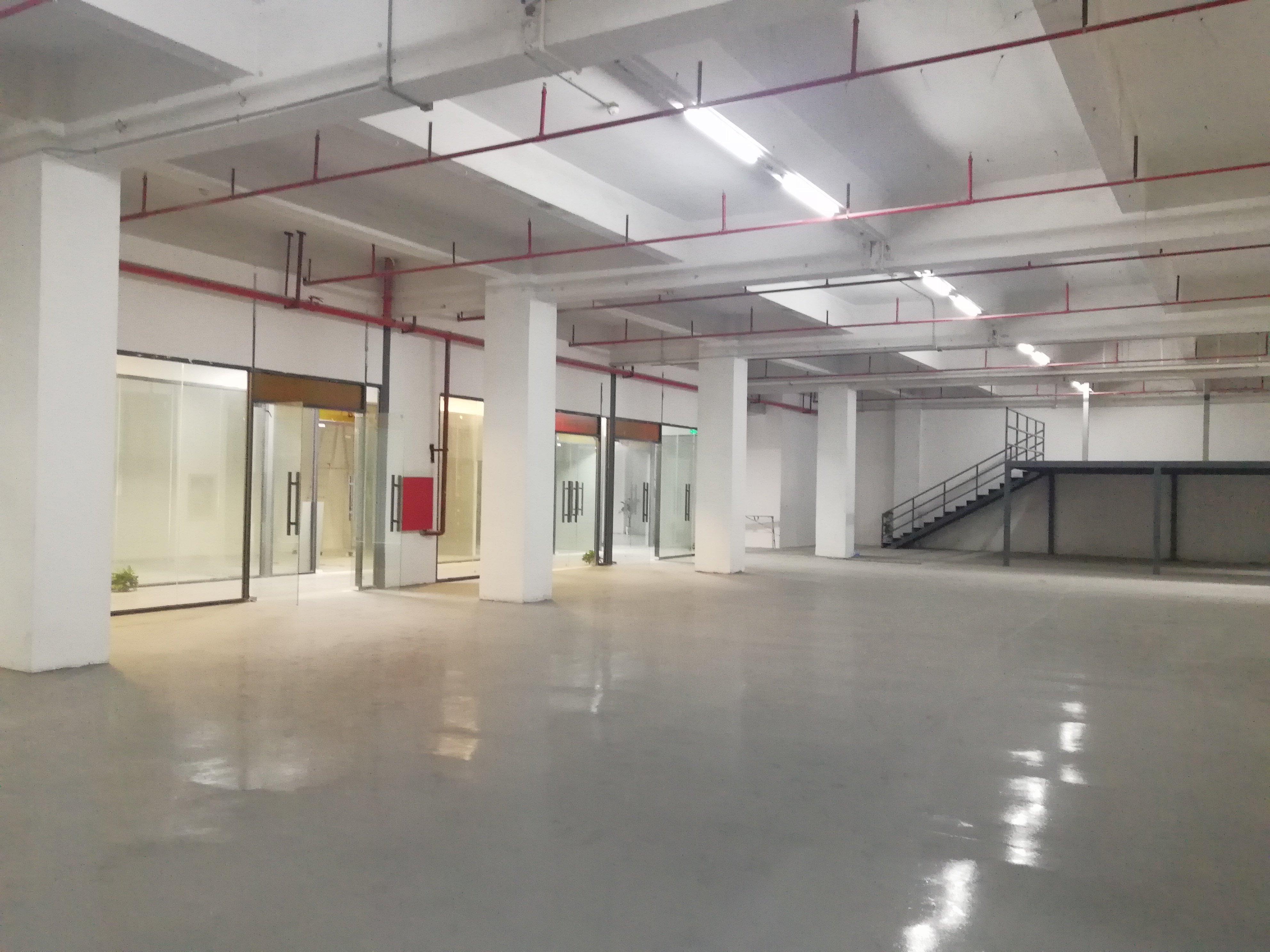 李朗红本工业园一楼楼上500平_带装修_可办环评-图5