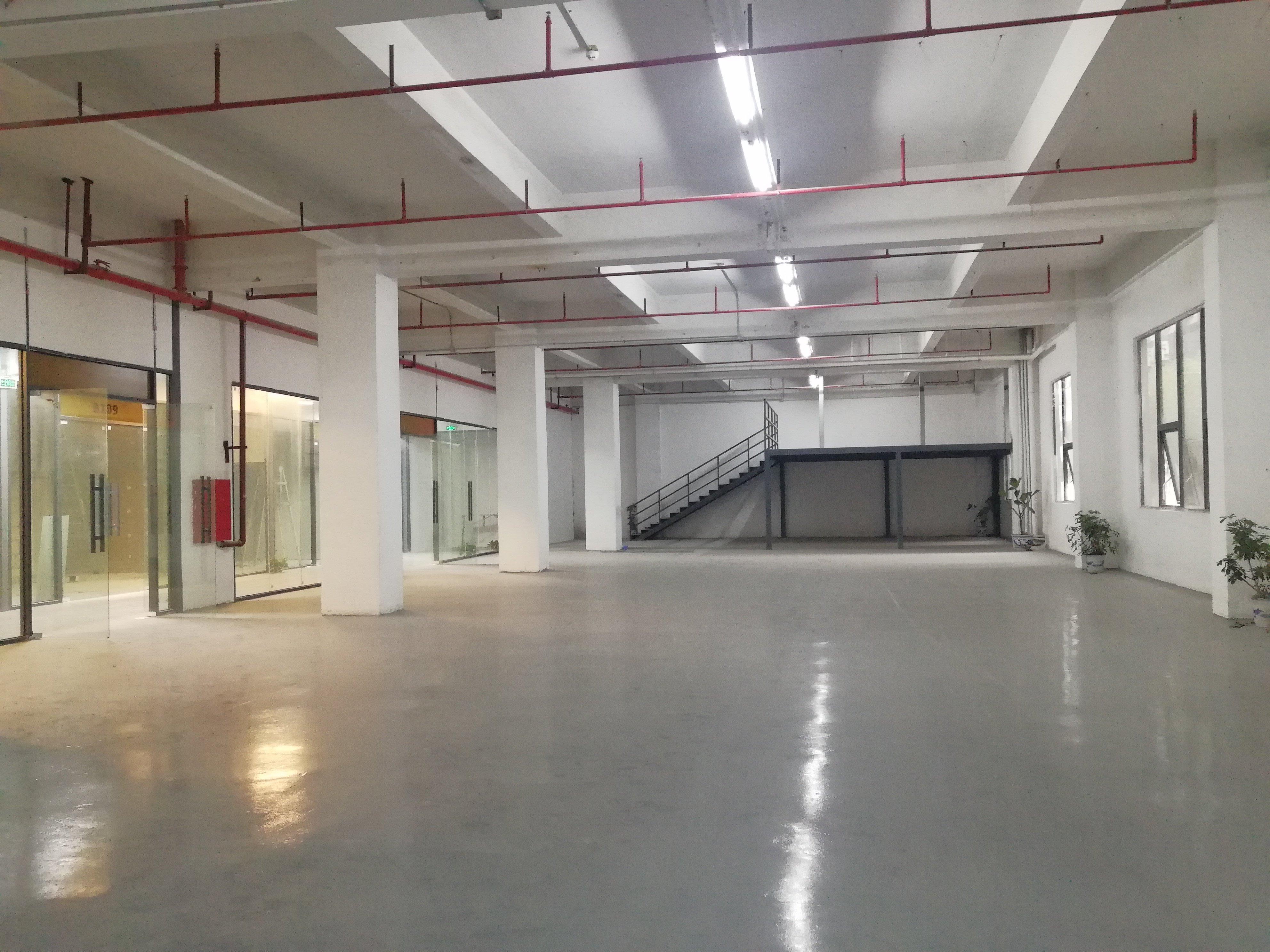 李朗红本工业园一楼楼上500平_带装修_可办环评-图6