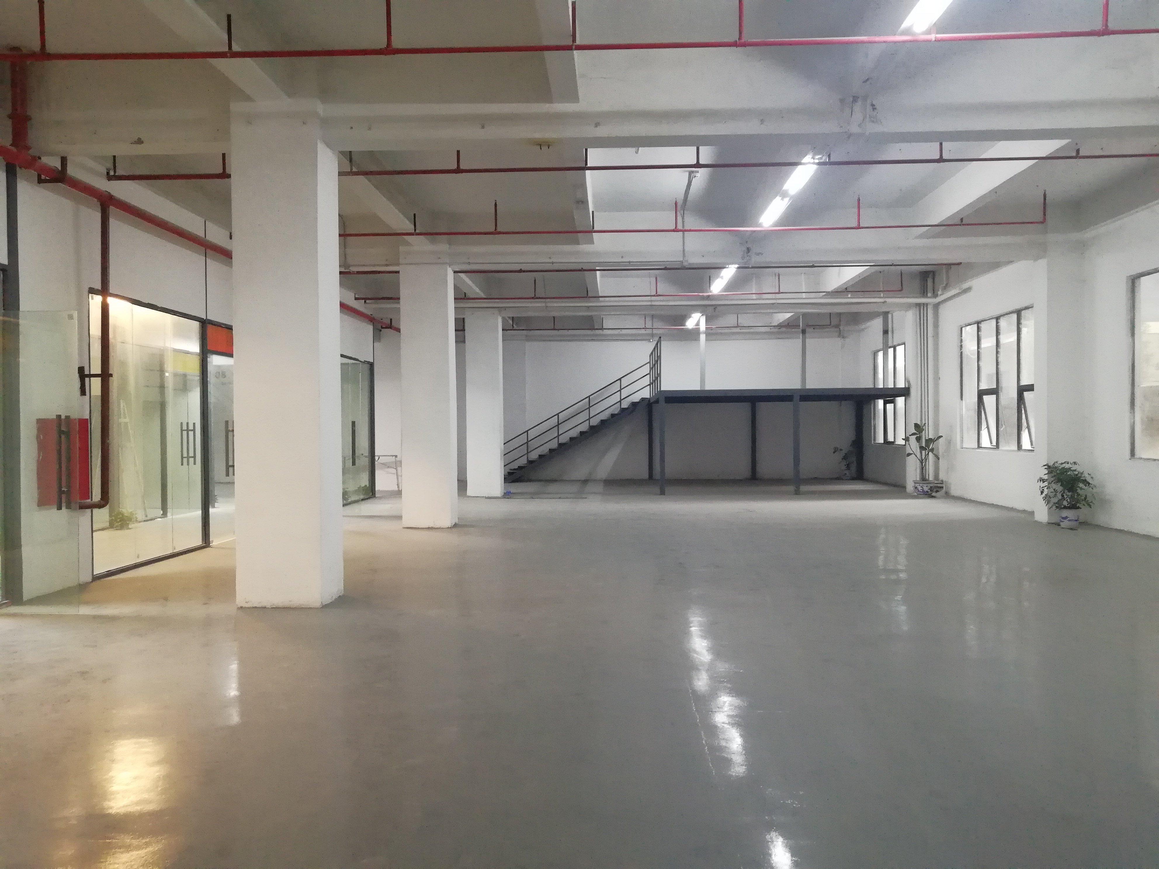 李朗红本工业园一楼楼上500平_带装修_可办环评-图4