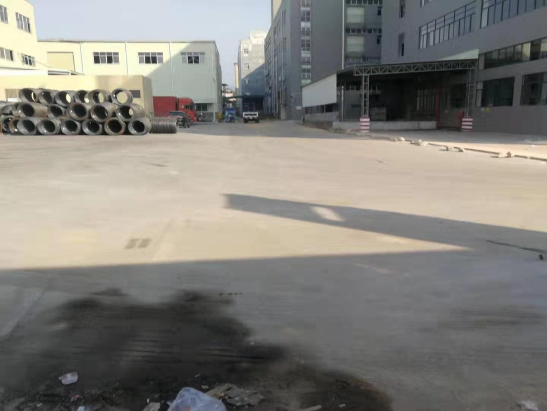 清溪三中新出钢构仓库3400平出租园区空地超大好进车