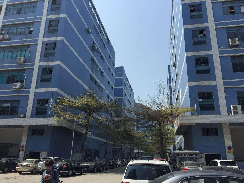 西乡固戍大门附近新出楼上2500平红本厂房出租可分租