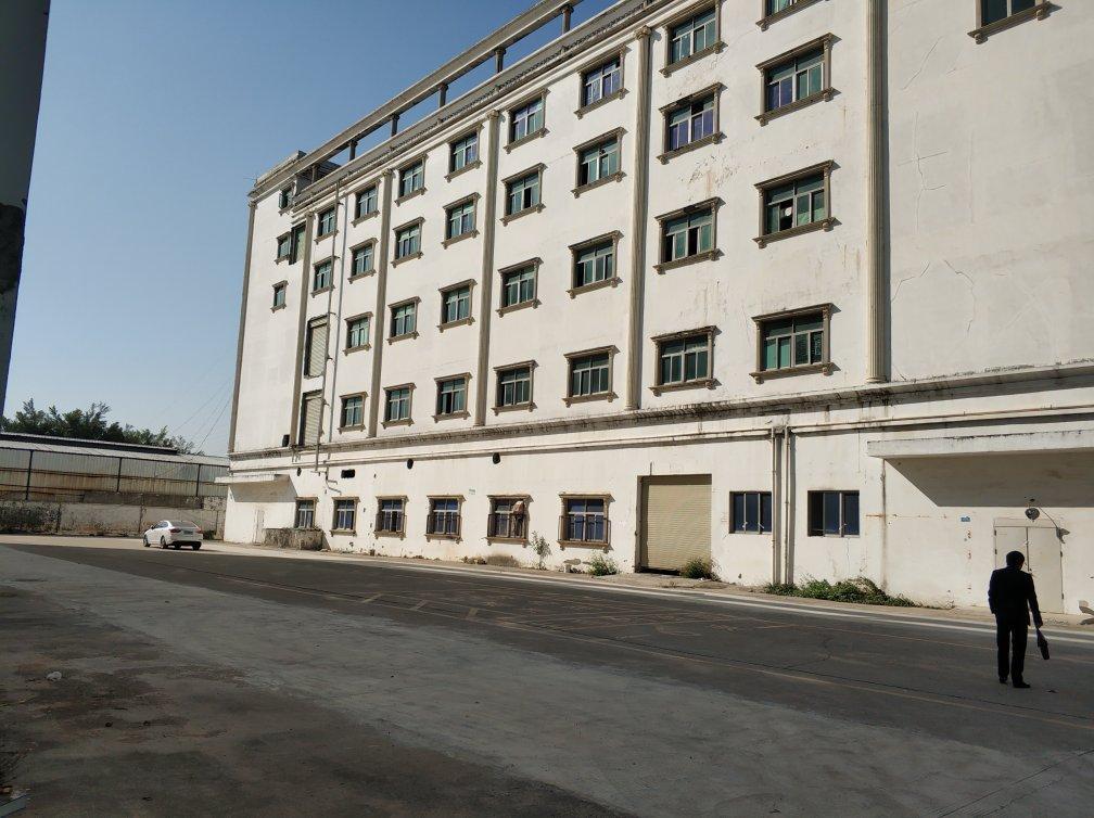 观澜主干道靠近高速路口红本厂房独栋13000平