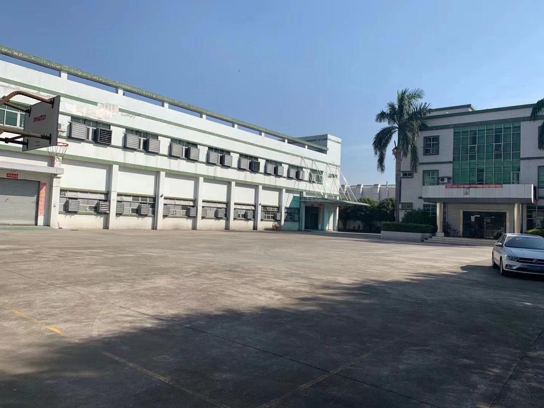 广州市黄埔区主干道旁红本双证占地100亩厂房地皮出售