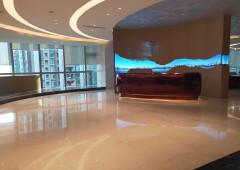 宝安中心区甲级写字楼95平起出售有红本精装修