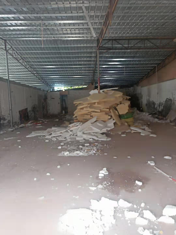 砖墙到顶铁皮房300平,实际面积,做仓库小加工最合适