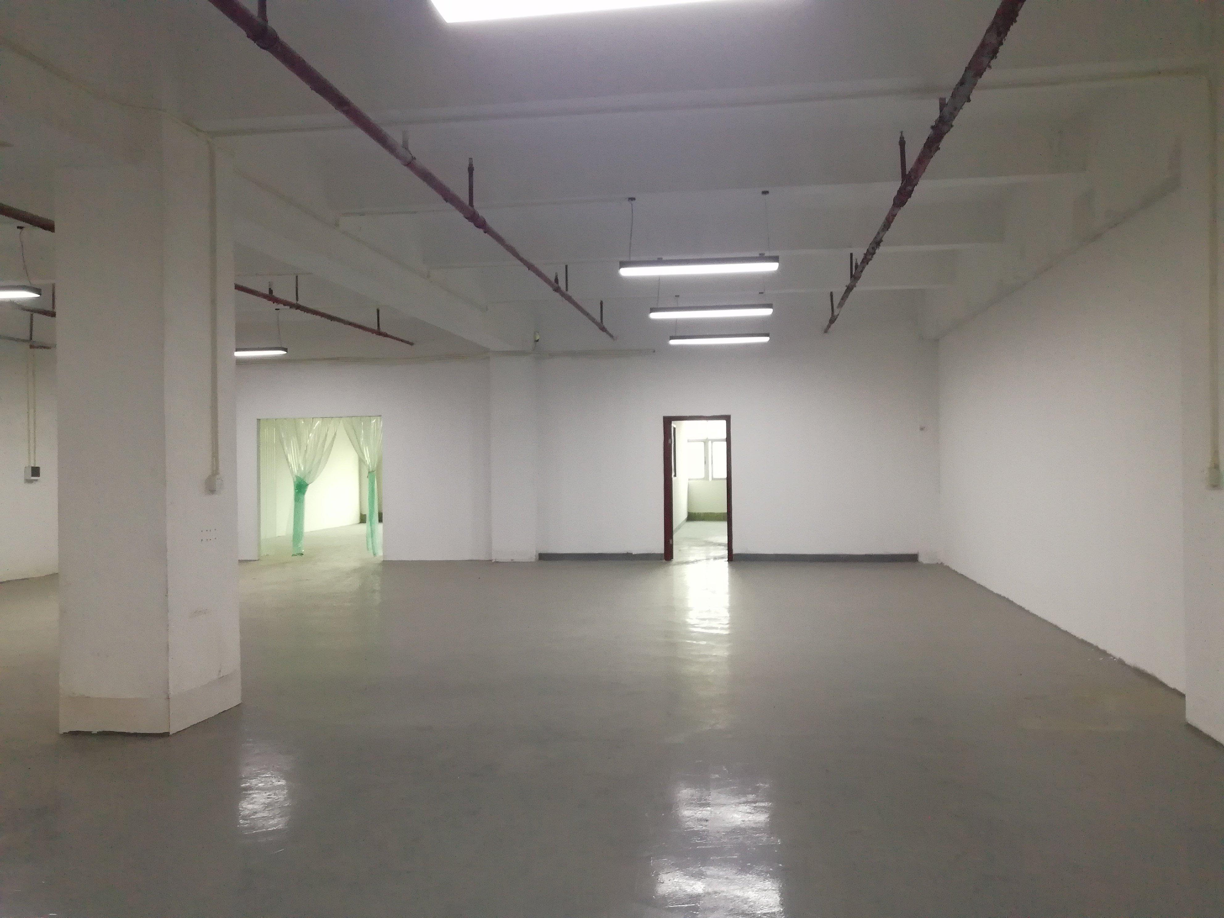 李朗红本工业园一楼楼上500平_带装修_可办环评-图2