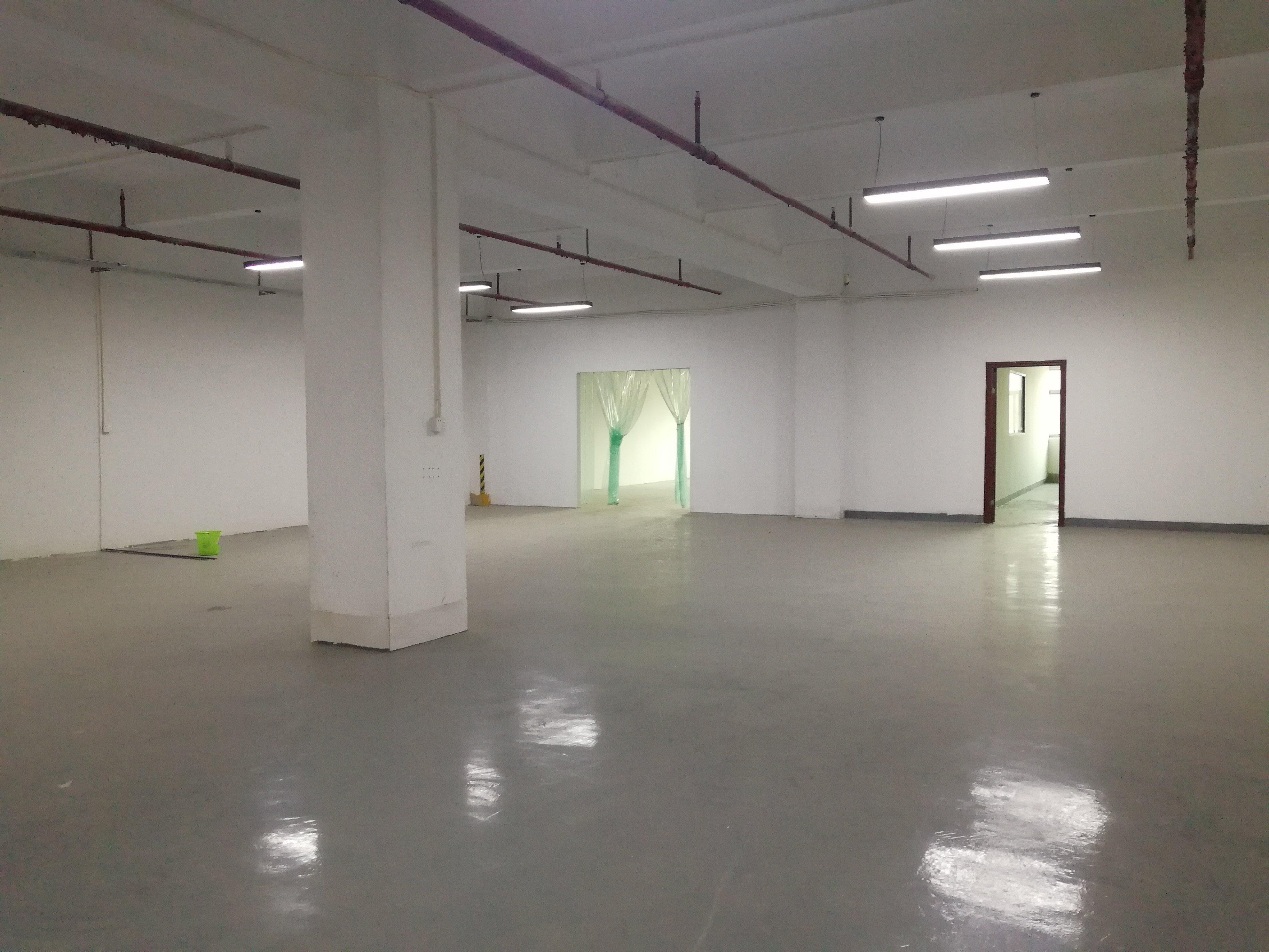 李朗红本工业园一楼楼上500平_带装修_可办环评-图3