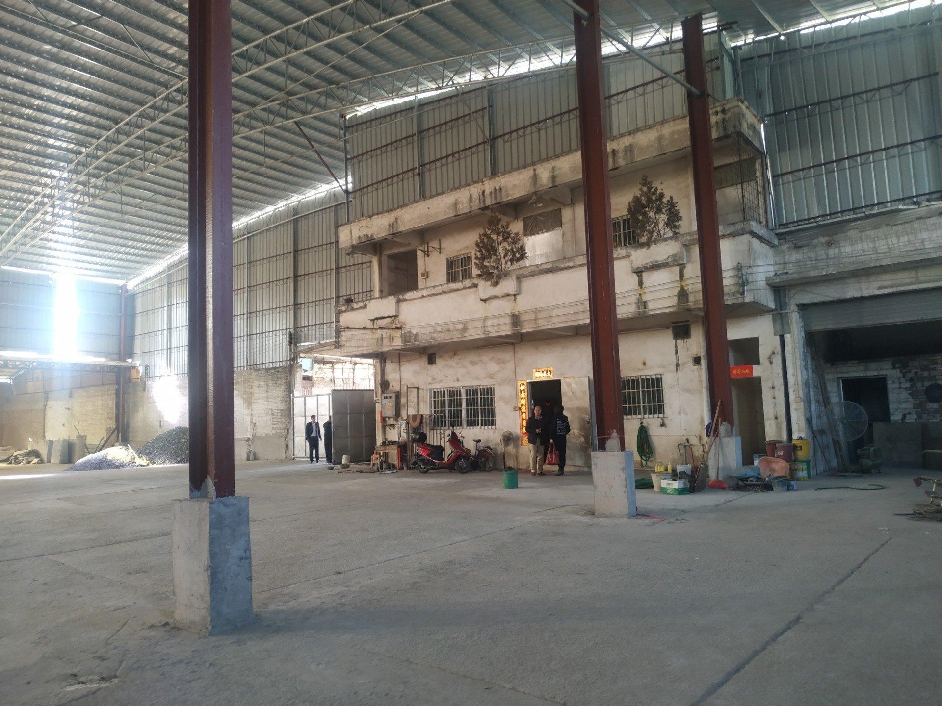 佛山南海大沥主干道边工业园带现成办公室交通便利单一层厂房