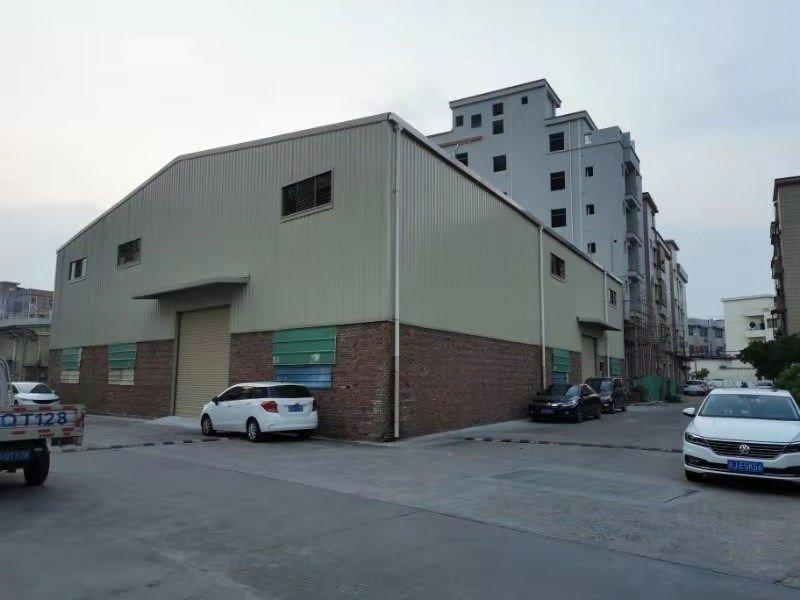 横沥镇原房东滴水8米交通便利租金便宜独栋单一层仓库出租