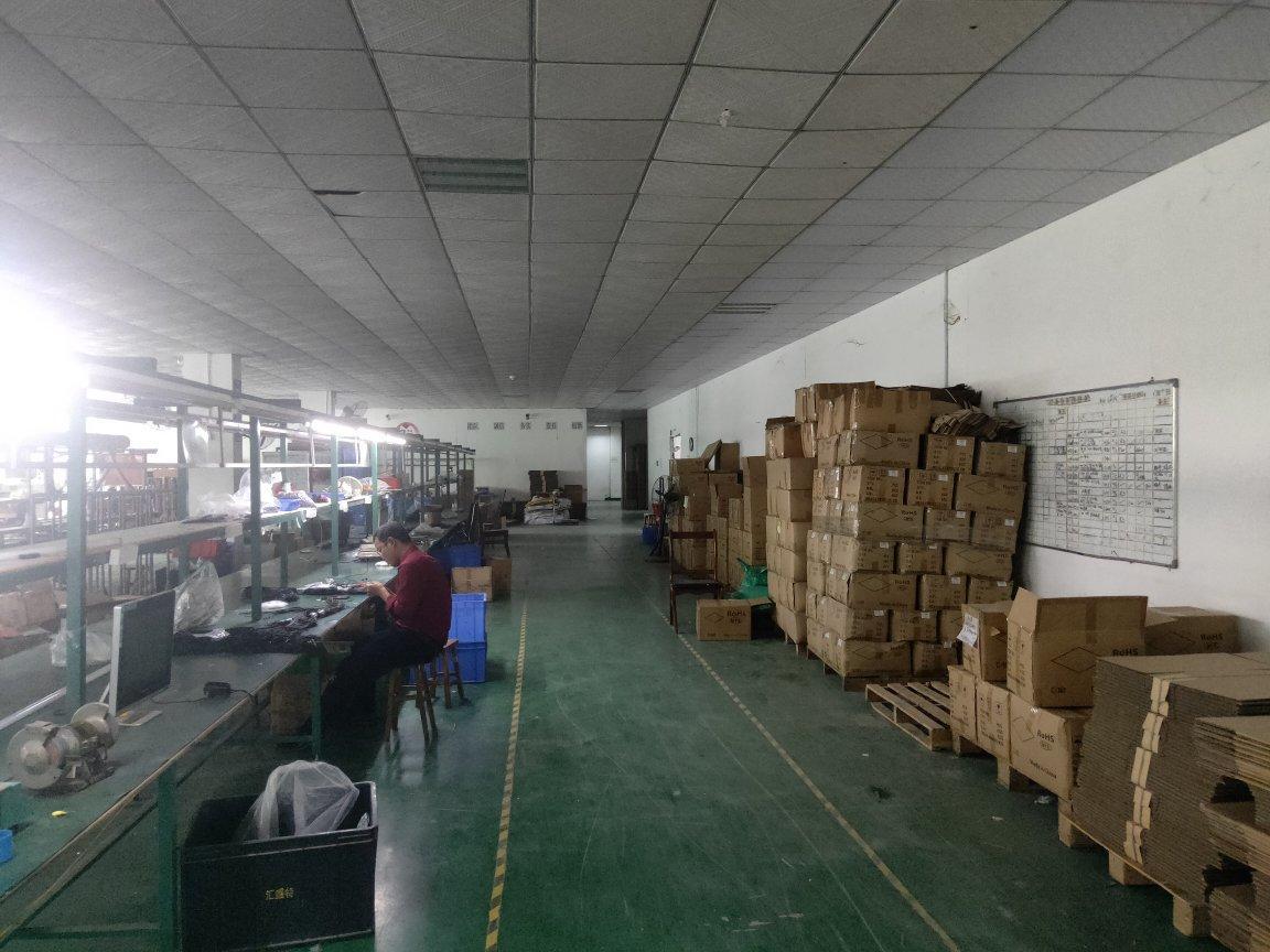福永怀德独院楼上1250平米精装修厂房出租