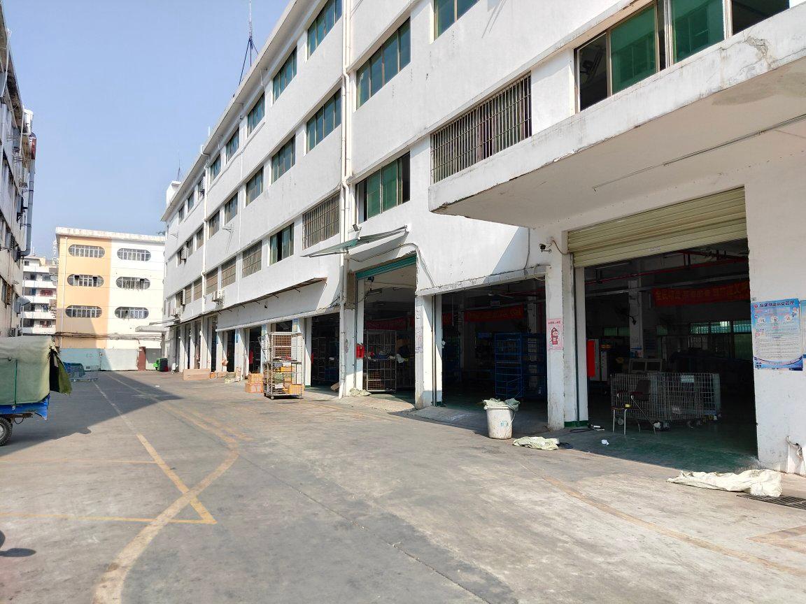西乡宝田国道边楼上带装修1280平米办公厂房仓库出租