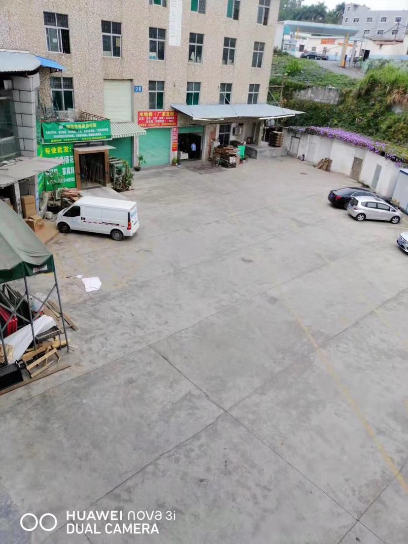 布吉新出独门独院厂房,4500平园区空地,大内部有装修。