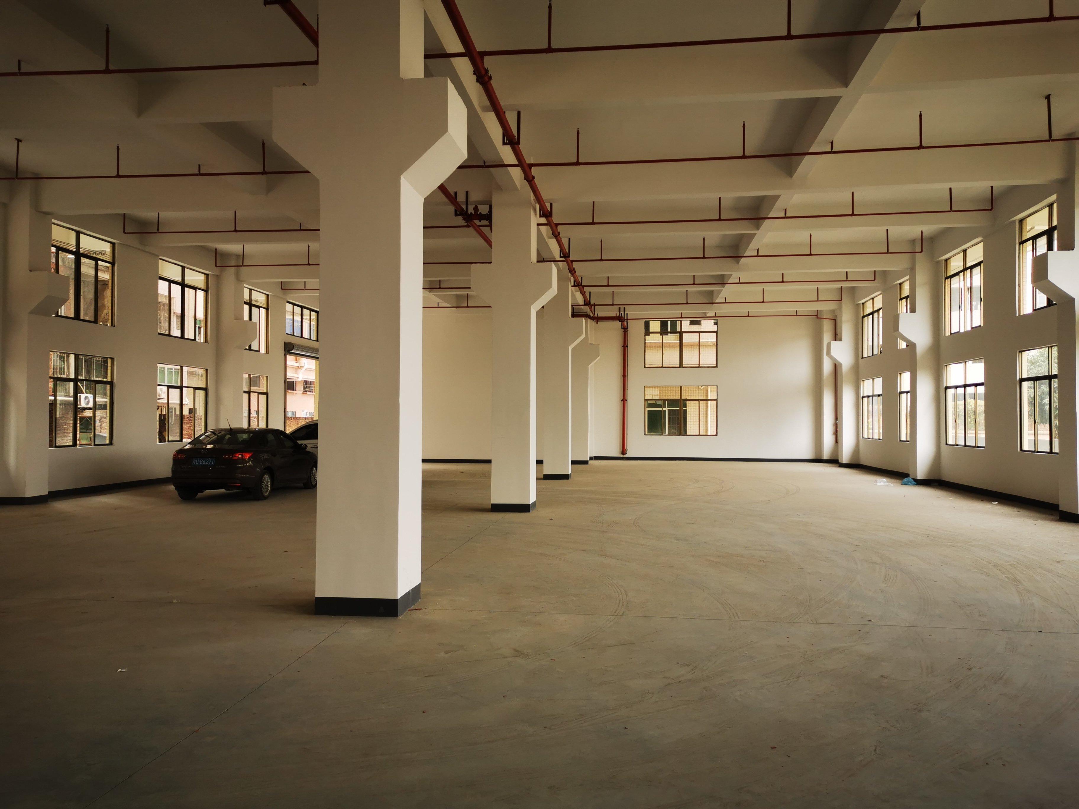 工业园一楼1200平方出租6.5高带牛角消防喷淋工业用地