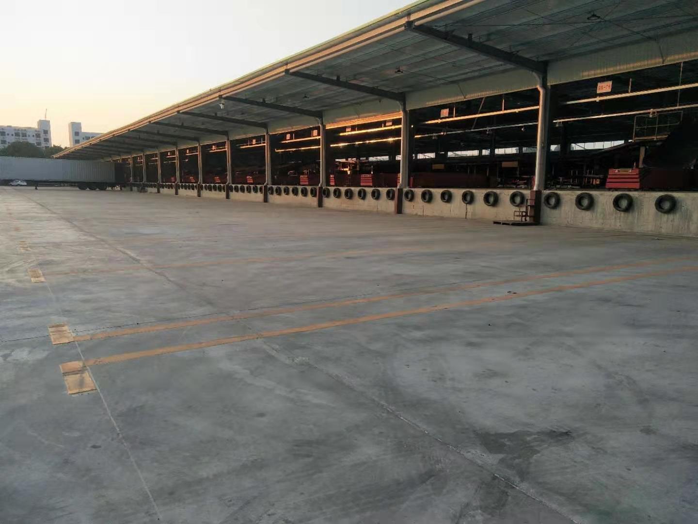 大型物流园标准库,带卸货平台15600平,最小5000分租