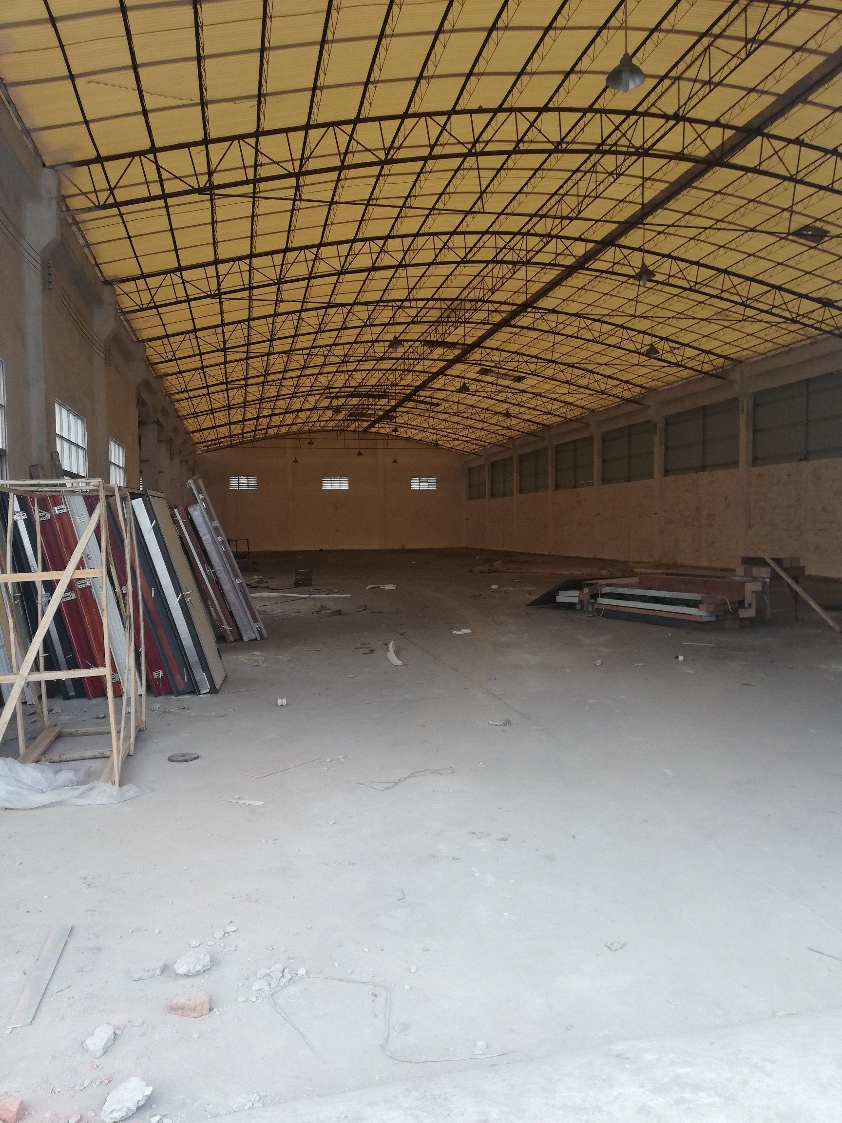 大沥镇钟边村村委厂房1200平米单一层钢构出租适合做门窗厂