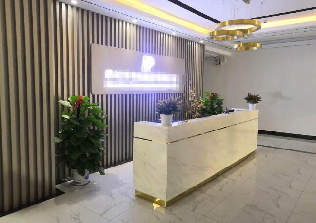 福永和平花园式工业园楼上1200平精装修带办公室厂房